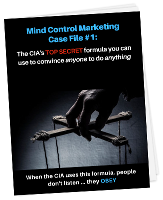 a new free report from Simpleology - Mind Control Marketing Case File #1